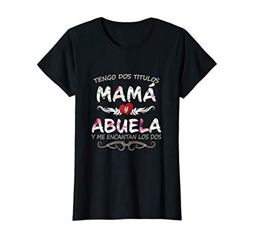 Mujer Camisa Para Mama y Abuela Blusa para Dia de Madres Camiseta