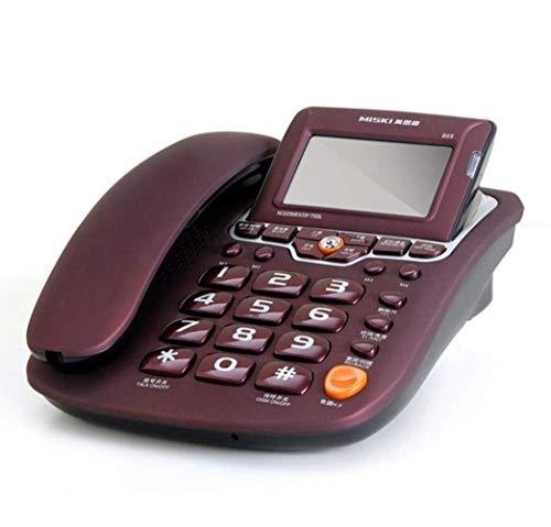 固定電話 発信者 ID 固定電話 電話 着信音 固定電話 発信者 ID 固定電話 オーディオとディスプレイ付き コード付き家庭用電話