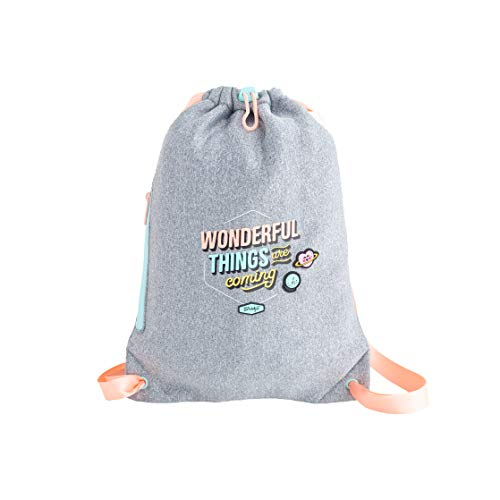 Mr. Wonderful Small Sack Bag-Wonderful Things Are Coming, Multicolor, Talla Única