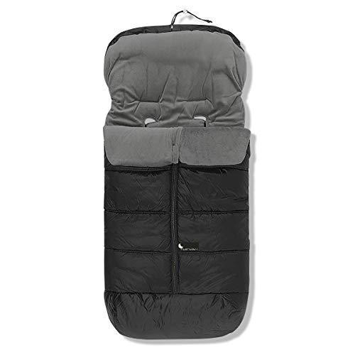 Interbaby 10024-08 - Saco de abrigo universal, Negro