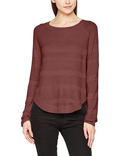 ONLY NOS Damen Onlcaviar L/S Pullover Knt Noos, Rot (Wild Ginger), 38 (Herstellergröße: M)