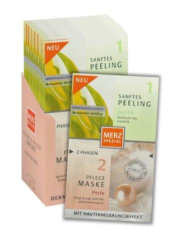 Merz 38103 Peeling und Pflege-Maske, 15er Pack für 15 Anwendungen