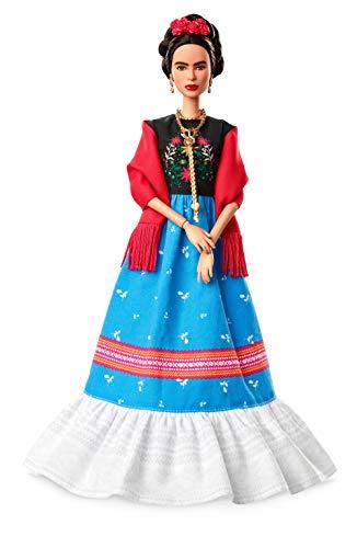 Barbie Collector, mueca Frida Khalo de 'Grandes Mujeres' (Mattel FJH65) , color/modelo surtido