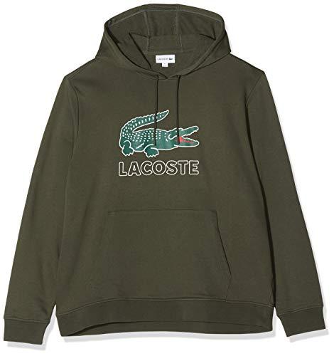 Lacoste Herren Sh6342 Sweatshirt, Braun (Baobab S7t), Large (Herstellergröße: 5)