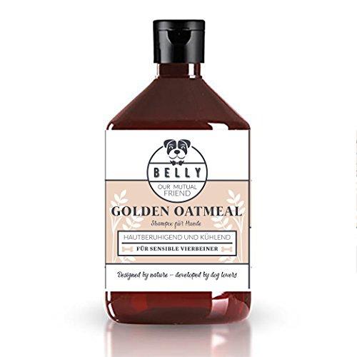 Hundeshampoo von Belly 500ml Flasche I Premium Hundepflege Shampoo für gereizte & trockene Haut I Unser Hund Shampoo ist auch als Hundeshampoo für Welpen geeignet I Biologisch & vegan