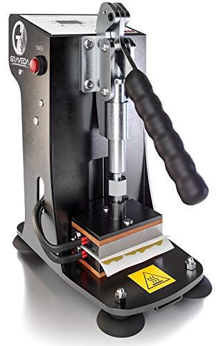 Graveda Rosin Press Graspresso - Herstellung von Kolophonium/Extraktion ohne Lösungsmittel, Rosin-Presse mit Temperatur- und Druckeinstellung bis 600 kg