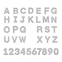 36個入り アルファベット 数字 ステンレス製 ペンダント フラット チャーム シンプル アクセサリー ジュエリーパーツ DIY ハンドメイド 手芸材料 手作り用品 クラフト用品 11~11.5x6~12x0.6~0.7mm