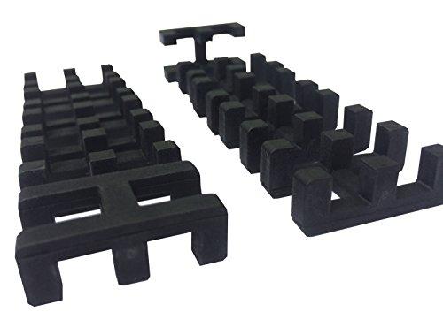 EHA 99011 Universalverbinder zum verbinden Nassraummatten VE: 10 Stück, schwarz