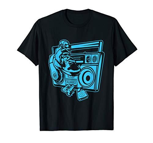 Hip Hop Ghettoblaster Rapper Hip Hoper Fan T-Shirt