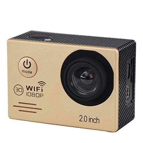 wasserdichte Digitale Actionkamera Xrlh28 Mit Touchscreen 1080P Hd Video 12Mp Fotos Live-Streaming-Stabilisierung,Gold