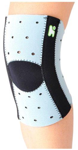ヘルスポイント(Healthpoint) ランニング 膝用 サポーター ランニングニーサポート 1020HOZ スカイ(SK) L-LL
