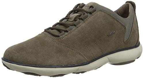 Geox Herren U Nebula C Sneaker, Braun (Taupe C6029), 45 EU