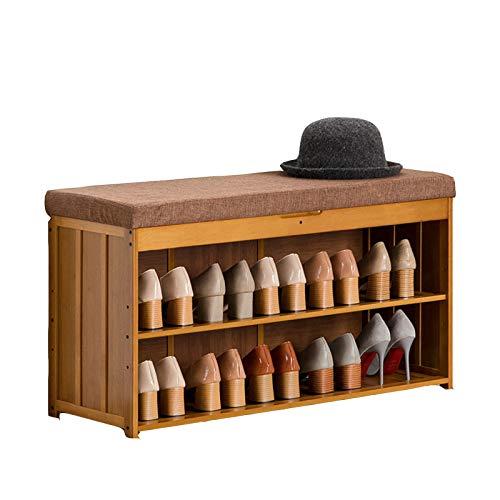 HENDA Taburete para Cambiar Zapatos, Espacio De Almacenamiento Oculto 4 Especificaciones Utilizadas para La Entrada del Pasillo del Dormitorio De La Sala De Estar 48 * 30 * 90cm