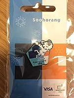 平昌オリンピック ピンバッジ スホラン スケート
