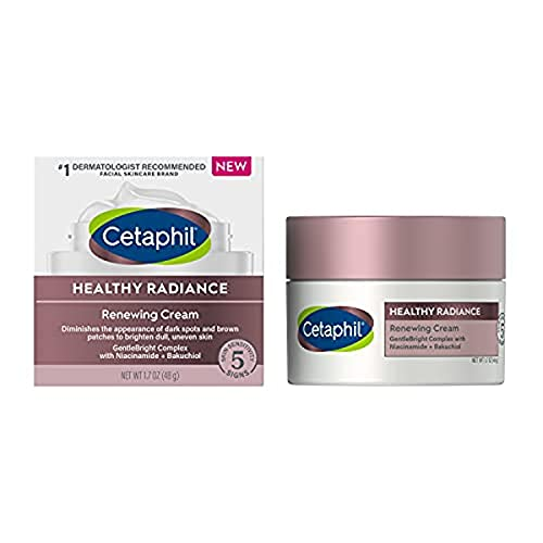 cetaphil face mask for dry skins Face Wash by Cetaphil, Healthy Radiance Gentle Exfoliating Cleanser, Visibly Reduces Look of Dark Spots and Hyperpigmentation, Designed for Sensitive Skin, Hypoallergenic, Fragrance Free, 4.2oz