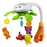 winfun - Movil proyector musical para cuna con animalitos (44241)...