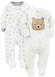 Bear-themed baby onesie
