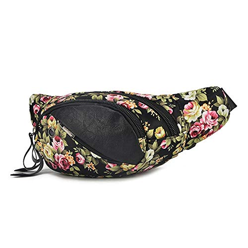 NKns New Ladies Pockets Fashion Shoulder Bag Casual Messenger Bag Chest Bag Dual-Use Bag Wild Female Bag Mochila Mujer Peque
