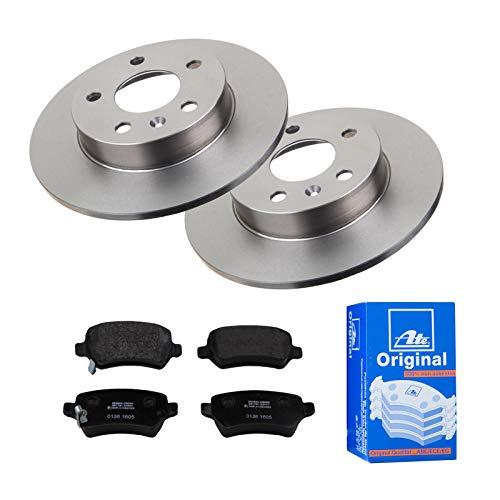 2 Bremsscheiben Ø264 Voll + Bremsbeläge ATE Hinten P-A-02-00140 Bremsanlage