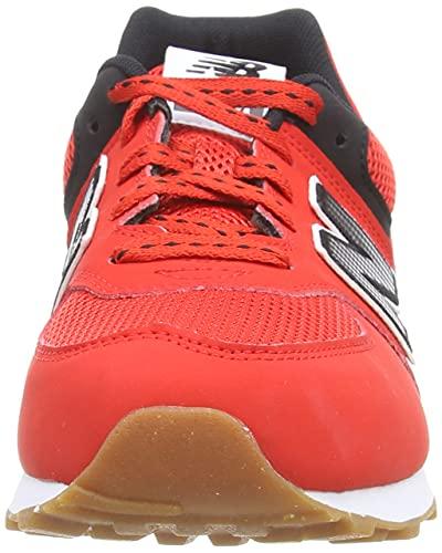 New Balance 574 Optiks Pack, Zapatillas, Velocity Red, 38 EU
