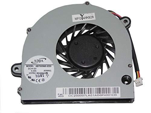 zyvpee AB7005MX-ED3 (KIWAX) 5 V 0,25 A 3-Draht für IBM Lenovo G450 G450A G450M G455 G550 G555 CPU-Kühler