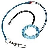 Scotty Sure Stop Pro für Downrigger Boom mit Snubber (76,2 cm), Blau/Schwarz