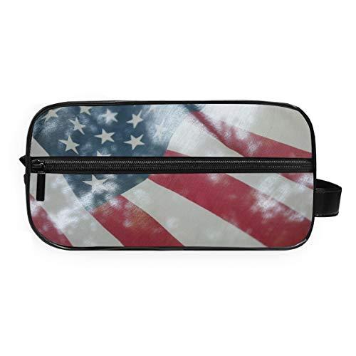 MontoJ Trousse de toilette Sac de rangement pour cosmétiques United States Maquillage Sac de lavage Gargle Sac pour Voyage et Maison