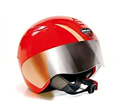 The Peg Perego Ducati safety helmet for children complies with UNI EN1080 safety regulation The unmistakable red Ducati colour makes it ideal as an accessory for all Peg Perego Ducati products The helmet is designed to be use by small children on bik...