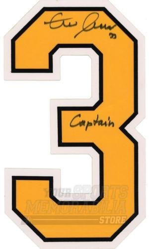 Zdeno Chara Boston Bruins Signed Autographed Captain Inscribe Home Jersey Number