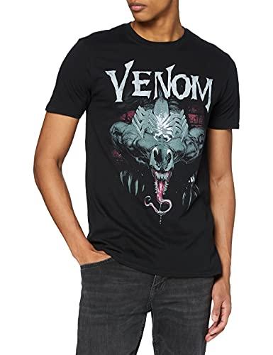 Marvel Venom Sneak Camiseta, Negro, XXL...