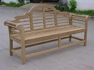teak lutyens bench 6ft