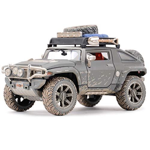 NMBE 1:24 para 2008 Hummer HX Concepto Estado Estado Matrices Vehículos Modelo Coleccionable Modelo Deportivo Juguetes Modelo De Auto (Size : Wite Box)