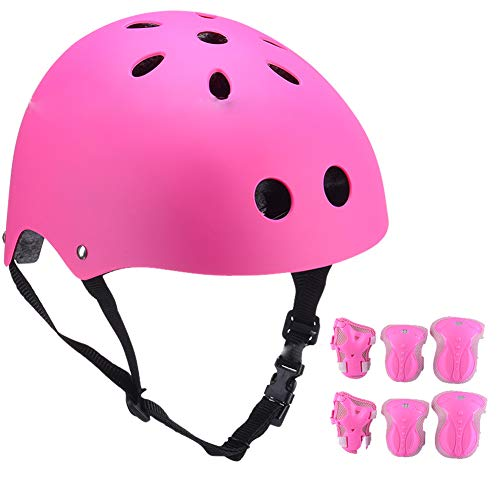 YYYY Casco de Patinaje sobre Ruedas para niños, cómodo y Seguro, Adecuado para niños y niñas Bicicleta/Bicicleta/Scooter/Bicicleta de Equilibrio/Patinaje Equipo de protección de 2-Small