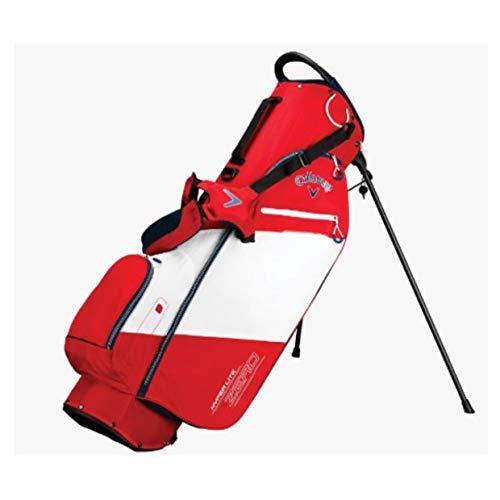 Callaway Hyper Lite Zero Left Handed Shoulder Red Stand Golf Bag
