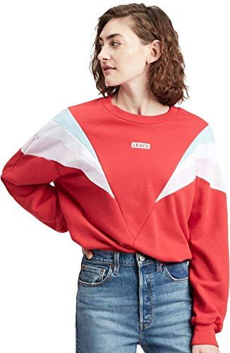 Levi's Sudadera Mujer x-Small Rojo
