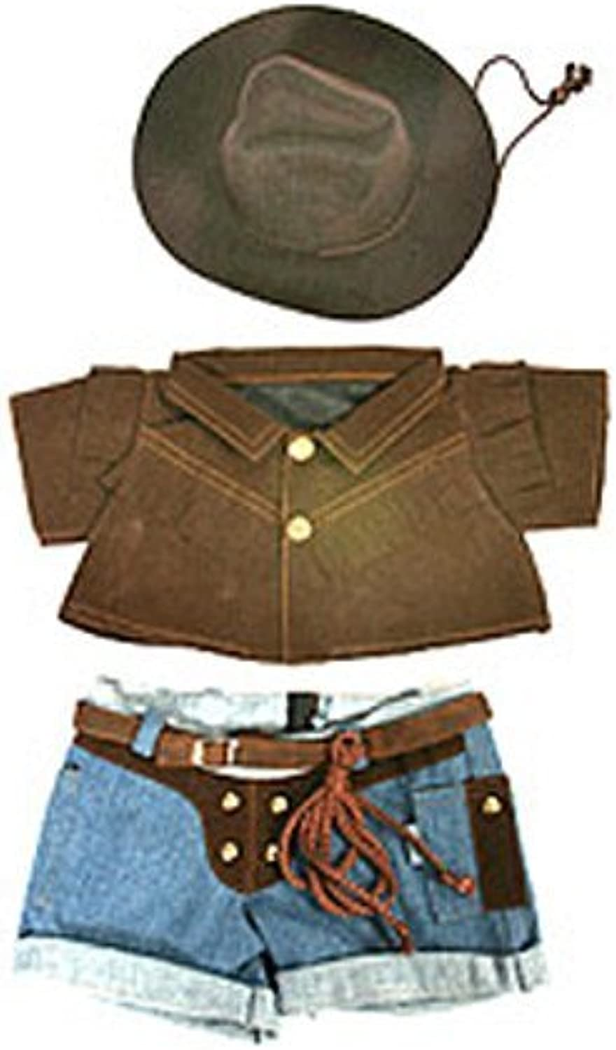 The Bear Factory Cowboy Outfit For All 15 thru 19 inch Animals by The Bear Factory