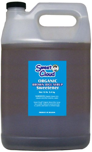 Sweet Cloud  Brown Rice Syrup, 12-Pound Plastic Can