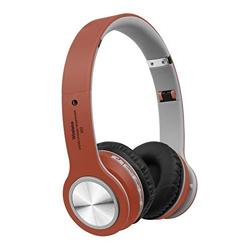 KimcHisxXv Kimilike hoofdtelefoon, V32 Folding Over Ear Bluetooth 5.0 stereo draadloze hoofdtelefoon Sports Headset