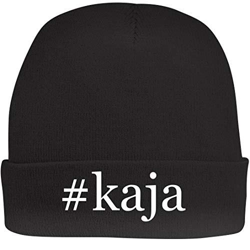 Shirt Me Up #kaja - A Nice Hashtag Beanie Cap, Black, OSFA