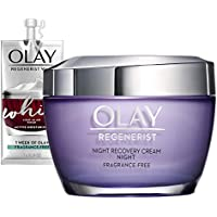 Olay Regenerist Night Recovery Cream Moisturizer + Whip Face Moisturizer