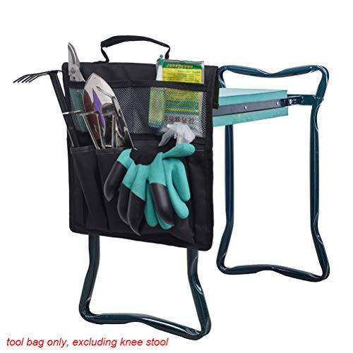 Kneeler Tool Bag, Garden Kneeler Tool Oxford Bags Storage Bag Portable Tool Bag Garden Bags con asa para silla de rodilla