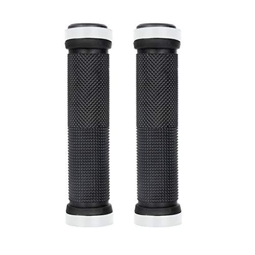 freneci 6 Pair Double Lock Handlebar Grips Aluminum Alloy Hand Cover Set