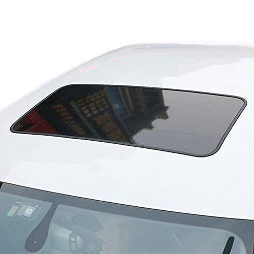 ダミーサンルーフ スポーティー カスタム 汎用 ブラック ステッカー シール 高級感UP エアロ ドレスアップ ...