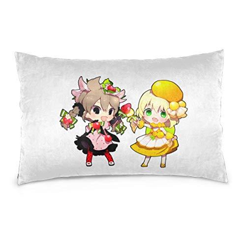 YudoHong I-nazuma E-Leven G Cushion Cover,Rectangle Printed Polyester Throw Pillow Case