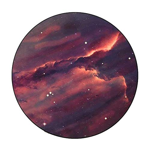 Carpets Carpet Mats Retro Round Carpet Starry Sky Earth Living Room Bedroom Tables And Chairs Non-slip Mats Bedside Blankets (Color : B, Size : 120cm)