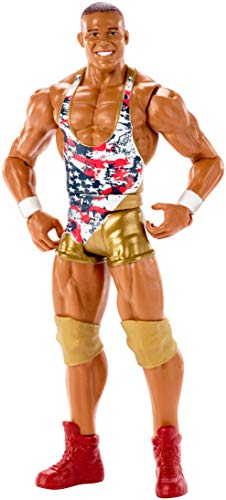 Mattel FMF03 WWE Jason Jordan 15 cm Basis Figur, Spielzeug Actionfiguren ab 6 Jahren