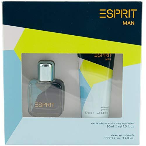 Esprit MAN Geschenkset 30 ml Eau de Toilette + 100 ml Duschgel