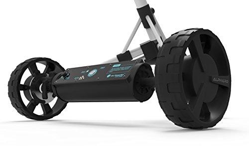 eWheels Unisex Club Booster Push Trolley Konverter für die Big Max IQ, Schwarz, One Size
