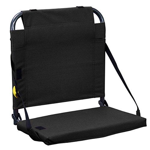 GCI Outdoor Bleacher Back Chair, Black