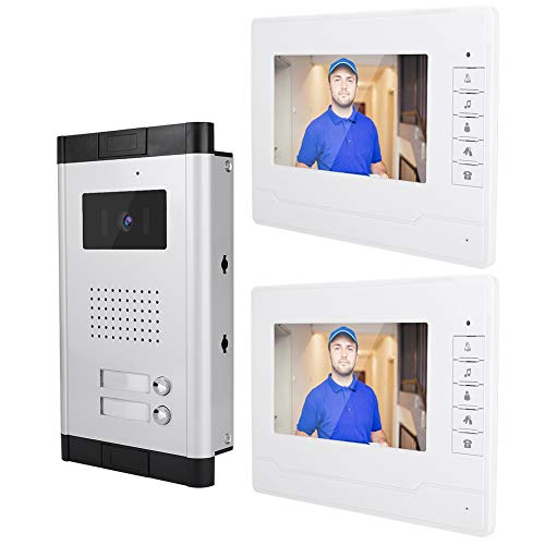 HD beeld 7 inch visuele deurbel Home Security Video Intercom deurbel met nachtzicht EU.